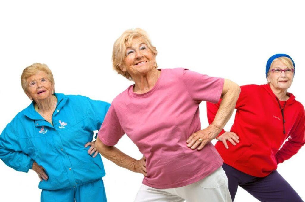 Personas mayores y deporte